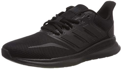 adidas Unisex-Child RUNFALCON K Sneaker, Black, 36 EU