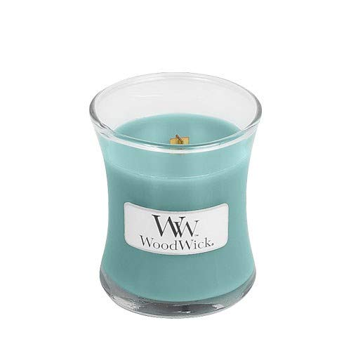 Woodwick Candle, Blue, Mini