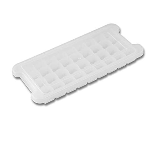 Great Deal! Ice Silicone 24 Grids PP Transparent Ice Box Mold with Lid Square Things Box Idea