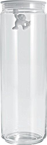 White Alessi AMDR05 W Gianni Glass Box