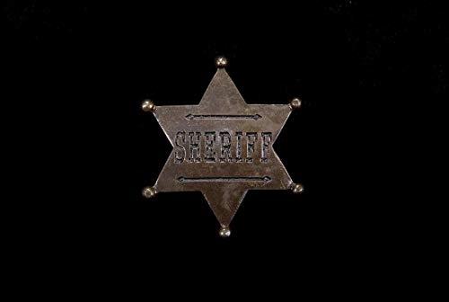 FORUM Badge de sheriff - Taille Unique
