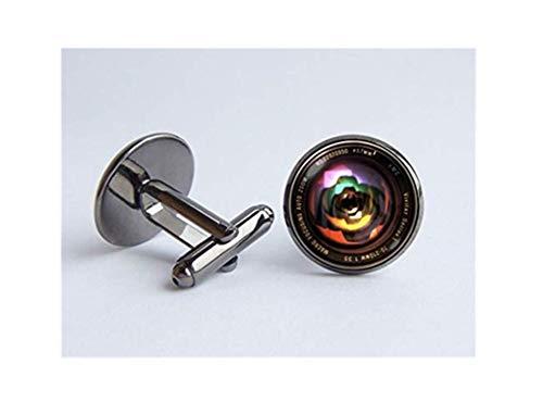 Gemelos coloridos con lente de cámara, regalo de fotos, gemelos de lentes...