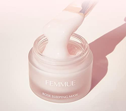 FEMMUE(ファミュ)ローズウォータースリーピングマスク<保湿マスク>50g日本正規品クリームダマスクローズ