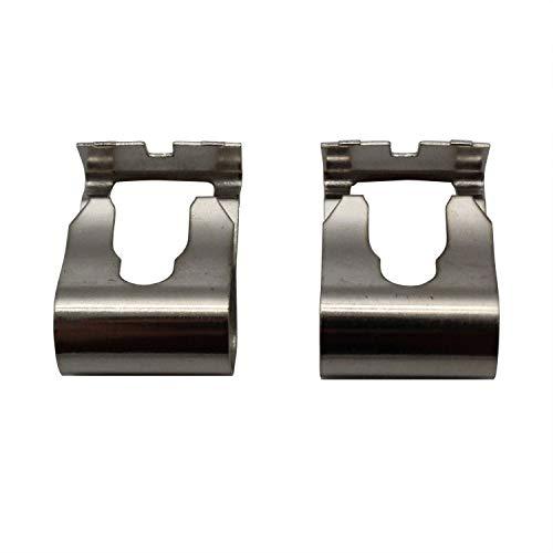 TAKPART 2x Universal Scheibenwischer Gestänge Reparatur Klammer Kit Stabilisatorkoppelstange Clip Reparatursatz