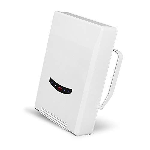 ZP-Heater Radiador eléctrico, Calefactor de Vidrio, Convector, 2400W, Panel táctil LED, Mando Distancia, Modo Eco, Control Parental,de Mica de rápida convección y difusión del Calor