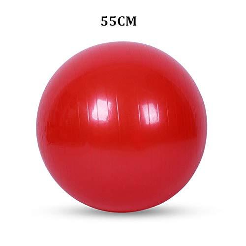 Chenzinan Yoga Bola 45CM / 55CM Deportes Estabilidad de la balanza Bola del Ejercicio de Pilates Parto Pelota de Ejercicio de Entrenamiento Bola de la Gimnasia Terapia Física