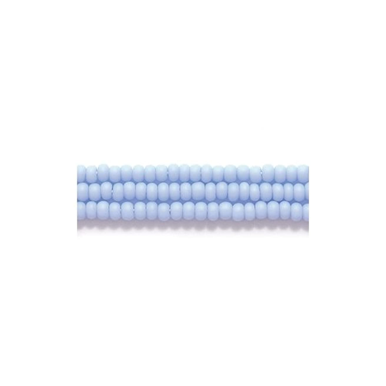 Preciosa Ornela Czech Seed Bead, Opaque Matte Pale Blue, Size 11/0