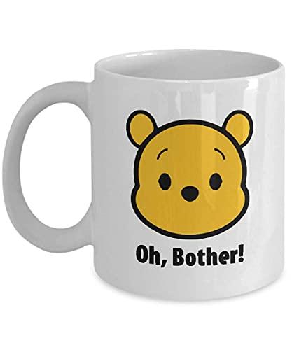 Disney Oh Bother Winnie The Pooh - Taza de café con diseño de Disneyland Fun