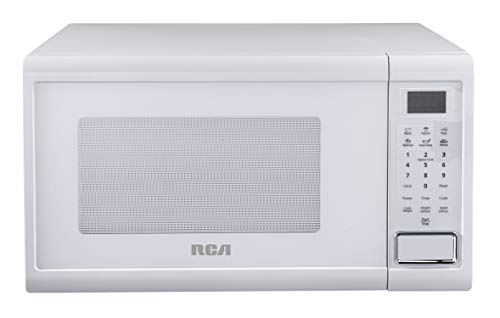 RCA RMW1129-WHITE 1.1 Cu Ft 1000-Watt Countertop Microwave, White