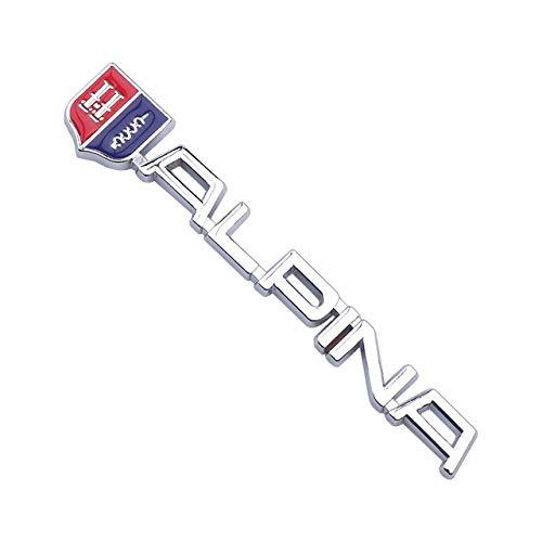 BANIKOP Auto Styling 3D Metall Emblem Abzeichen Kofferraum Heck Aufkleber Abzeichen | Auto Aufkleber |, Für BMWE46 E39 E90 E60 E36 F30 X5 E53 F10 E34