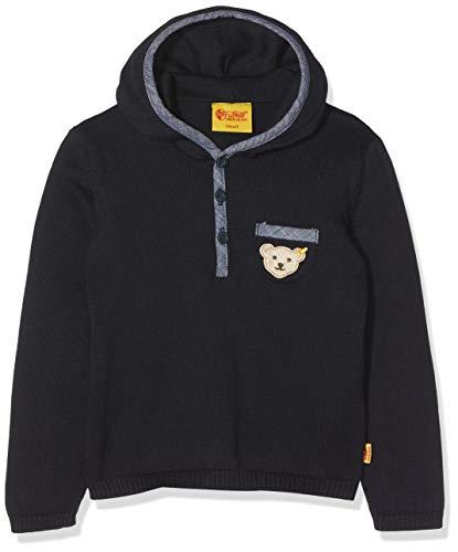 Steiff Pullover 1/1 Arm Sweater, Bleu (Marine|Blue 3032), 5 Ans Bébé garçon