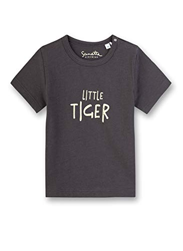 Sanetta Baby-Jungen T-Shirt, Grau (Grau 1918), 62 (Herstellergröße: 062)