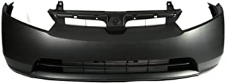 CarPartsDepot Front Bumper Cover Primed Black Smooth, 352-20559-10-PM HO1000239 04711SNEA90ZZ