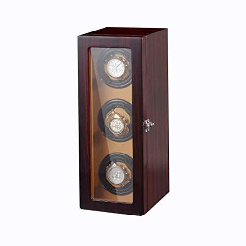 Cajas De Almacenaje El Lujo Automático Girar Permanente Watch Winder, 2/3 Watch Winder con 5 Modos, Watch Winder Automática con Quiet Mabuchi Motor (Size : B)