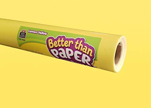 Teacher Created Resources Lemon Yellow Better Than Paper Bulletin Board Roll (TCR77043)