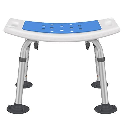 XUANMAI Duschhocker Duschhocker Duschsitz Für Senioren Handicap Badewanne Duschbank Badstuhl Für Erwachsene (Color : Blue)