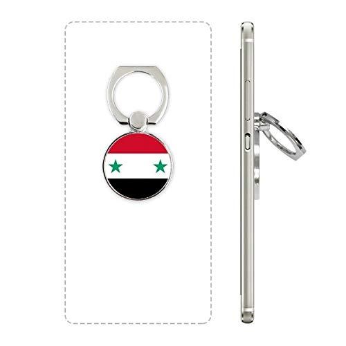 Syrië Nationale Vlag Azië Land Mobiele Telefoon Ring Stand Houder Beugel Universele Smartphones Ondersteuning Gift