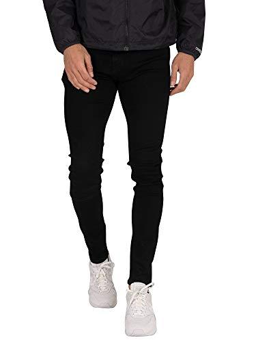 Calvin Klein Super Jeans Skinny, Nero (BA023 Black 1BY), 32W / 34L Uomo