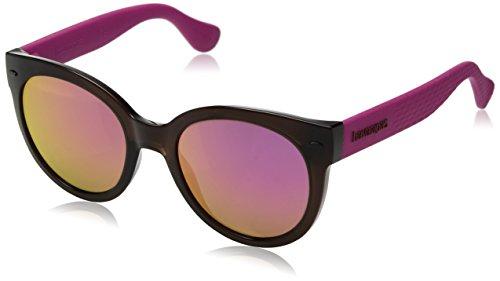 Havaianas NGOLDNHA/M VQ 52 QT3 Occhiali da Sole, Marrone (Brown Pink/GY Grey)