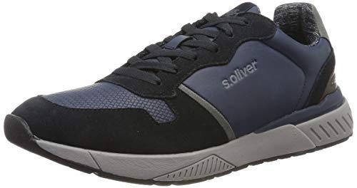s.Oliver Herren 5-5-13607-33 Sneaker, Blau (Navy 805), 42 EU