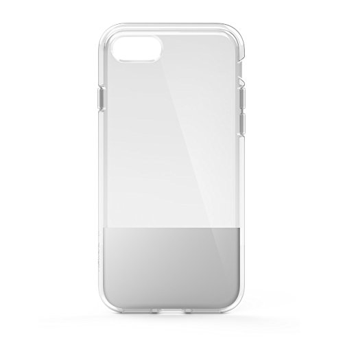 Belkin SheerForce Protective Case for iPhone 8/7 (TPU, Drop Protection, Full Port Access) - Silver