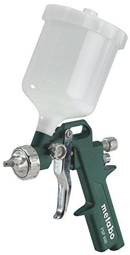 Metabo Druckluft-Farbspritzpistole FSP 600 (601575000) Karton, Arbeitsdruck: 4.5 bar, Luftbedarf: 240 l/min, Gewicht: 0.6 kg
