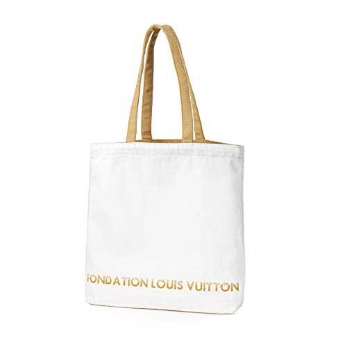 [ルイ・ヴィトン] フォンダシオン ルイ・ヴィトン 美術館限定 トートバッグ キャンバス ユニセックス