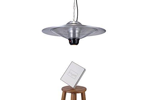 GREADEN – Infrarot-Hängeheizstrahler SATURN – Mit Fernbedienung und LED-Lampe – Terrassenheizstrahler – GR2RT3 - 3