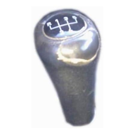Myshopx Leder Abdeckung Für Schaltknauf Echt Leder Auto