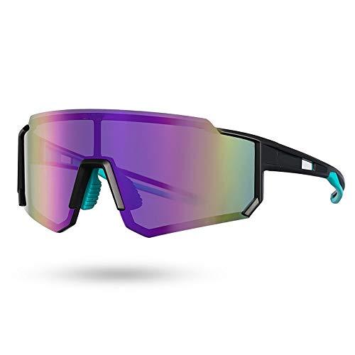 NAINAIWANG Gafas de Sol Polarizadas para Hombres y Mujeres Gafas Ciclismo UV400 Gafas Fotocromaticas Ligeras para Bicicleta MTB Montaña Ciclismo Running Deportes Unisex Navegar