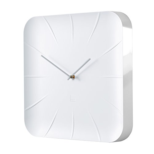 Sigel Reloj de Pared de diseño, Color Blanco