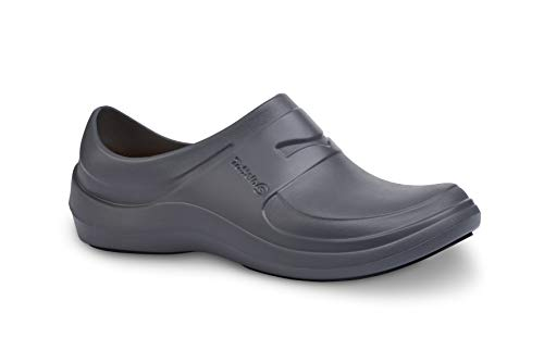 Toffeln AktivLite Clogs GripSafe Sole - Slip Resistant, Microfibre Insole, Lightweight Comfortable & Supportive - Non-marking Sole, Durable Machine Washable, Perfect for Nurses & Doctors, Unisex Sizes
