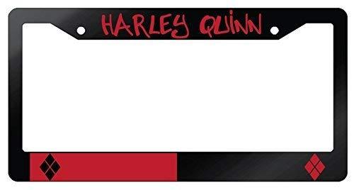 314v8i20zcL Harley Quinn License Plate Frames