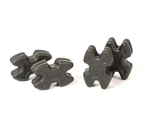 LimbSaver 4720 TwistLox Dampener for Split Limb Bows, Black