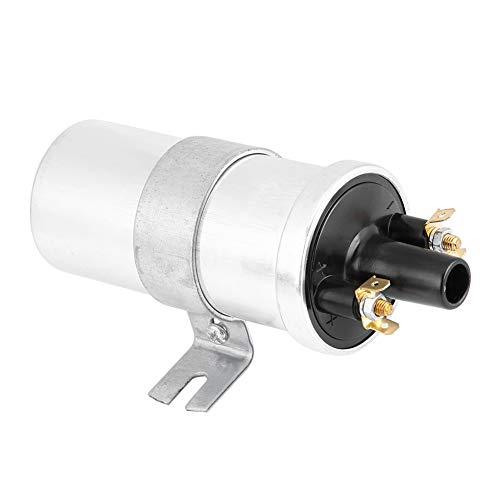 EBTOOLS Bobina de encendido, bobina de arranque de encendido de motor de coche sin balasto de metal de 12 V y 3 ohmios para aplicaciones Lucas DLB101