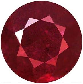 GemsNY 1.04 Ranking TOP13 Carat Natural 5% OFF Round Ruby