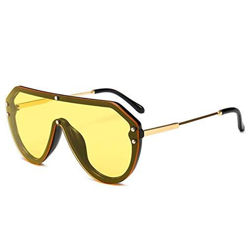 ZZZXX Gafas De Sol De EspejoGafas De Sol De Una Pieza Polarizadas Uv400 Protección Para Conducir Pesca Al Aire Libre Marco De Acetato,Con Caja De Regalo Y Paño Para Vasos