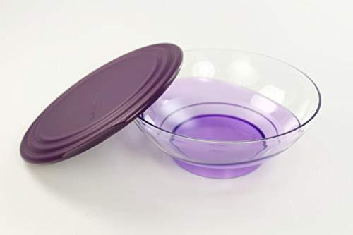 Tupperware Servierschale Eleganzia 1,5 L violett Lilla Schale Schüssel servieren 35689