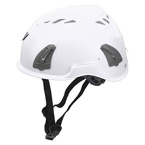 Estink Fahrradhelm, Bergsteigerhelm, 12-teilige Löcher können Rücklichter/Warnrücklichter/Ohrenschützer für Männer und Frauen installieren(White)
