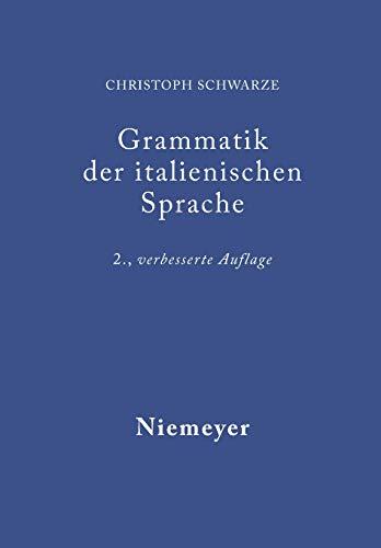 Grammatik der italienischen Sprache