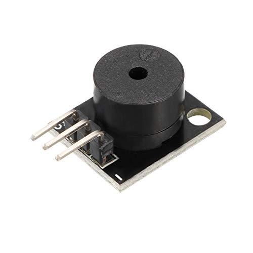 sourcing map Passives Summer Modul KY-006 Piezoelektrischer Alarmgeber Arduino