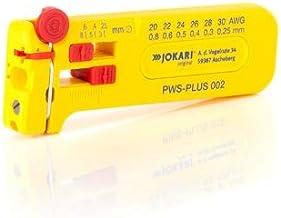 Jokari 40025 PWS-Plus 002 Mini-precisie-stripper voor het ontmantelen van ladders en strengen AWG 30 tot 20/0,25-0,80 mm Ø