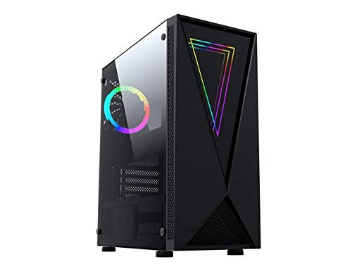 Raidmax p8 Series ATX Desktop Gaming Computer Case USB 3.0 Tempered Glass Window with 120mm Fans (p805) (p805)