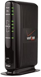 Actiontec GT784WNV 4PORT ENET ADSL MODEM ROUTER WL 11N FOR VERIZON