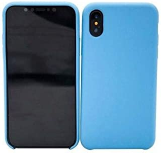 CABLEPELADO Funda Silicona iPhone X/XS con Logo Color Azul