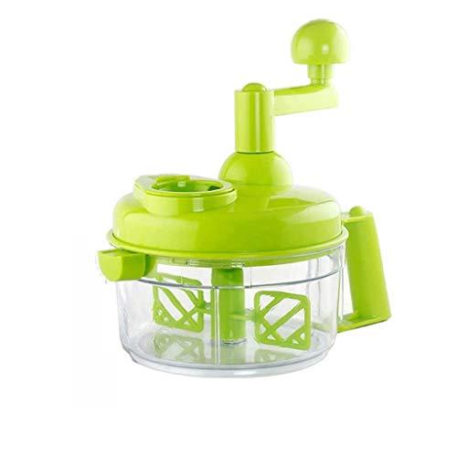 SCRFF Multifunktionale Manueller Fleischwolf Gemüseschneider Home Küche Gebrochene Gemüsehand gerührt Stopfmaschine