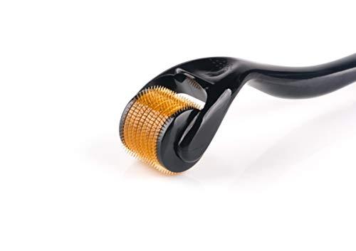 Sodacoda Dermaroller - 540 Mikro-Nadeln aus Titan und Edelstahl, Nadellänge: 1.50mm
