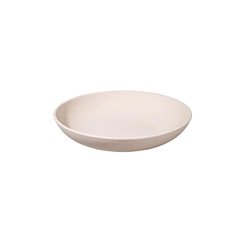 zuperzozial Tiefer Teller/Schale Bio, weiß