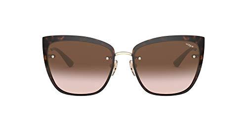 Vogue sonnenbrille VO4158S 848/13 havana braun größe 55 mm frau