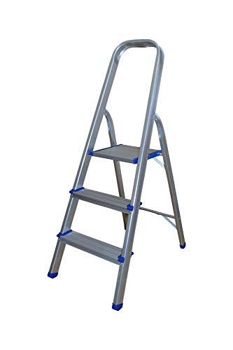 Huishoudladder van aluminium ladder met 3 treden